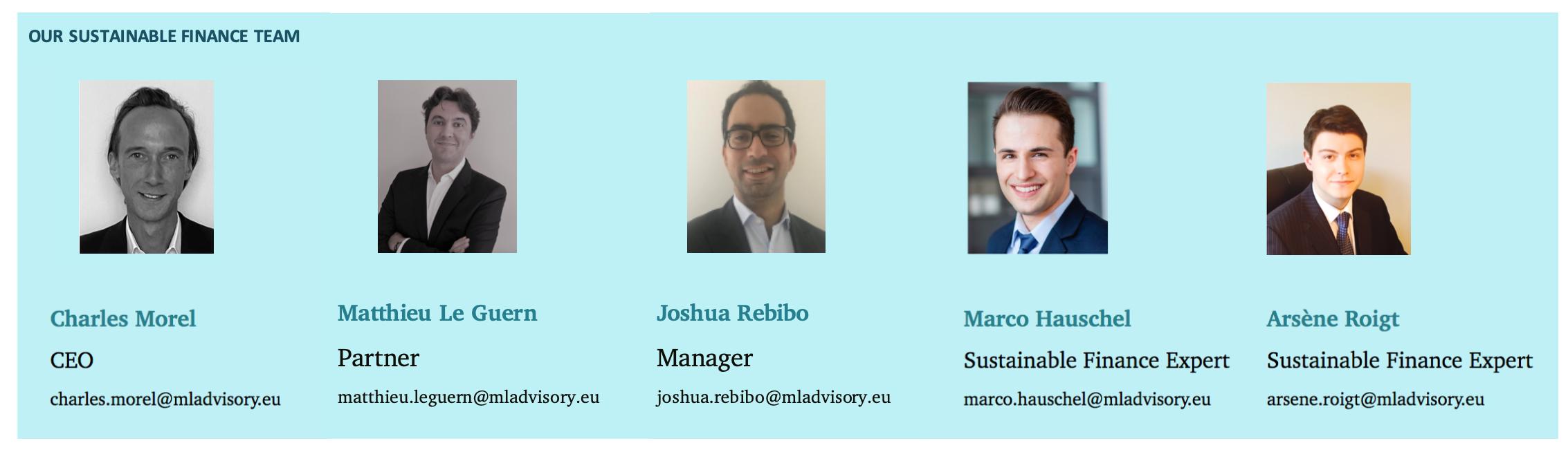 MLAdvisory ESG Team